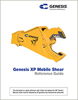 Reference guide for GXP (Genesis XP Mobile Shear).