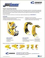 Genesis Jaw Armor manual.