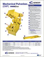 Spec sheet for GMP (Genesis Mechanical Pulverizer).